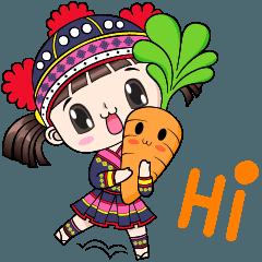 Boobib cute tribal