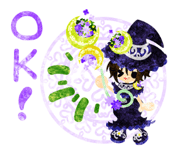 The Pretty witch sticker #11574392