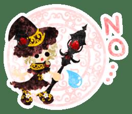 The Pretty witch sticker #11574393