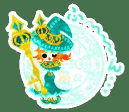 The Pretty witch sticker #11574396