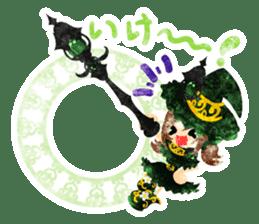 The Pretty witch sticker #11574397