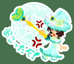 The Pretty witch sticker #11574410