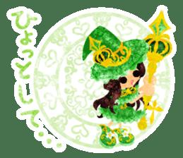 The Pretty witch sticker #11574417