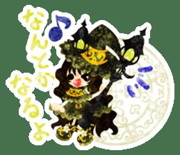 The Pretty witch sticker #11574418