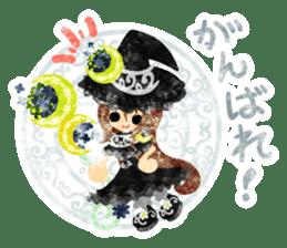 The Pretty witch sticker #11574419