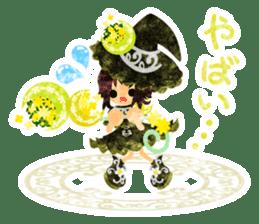 The Pretty witch sticker #11574426