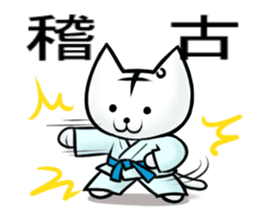 Posiro Karate sticker #11604369