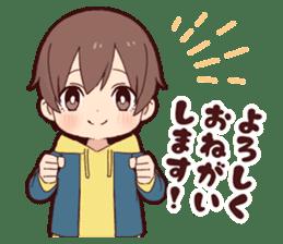 Junior boy sticker #11612369