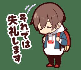 Junior boy sticker #11612388