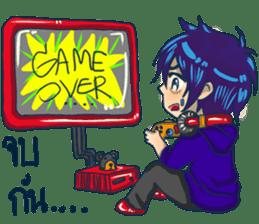 The Gamer boy cute sticker #11613518