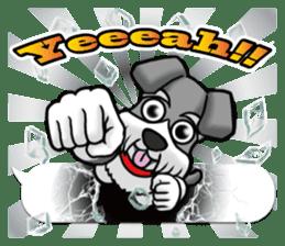 Schnauzersan sticker #11617328