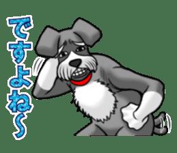 Schnauzersan sticker #11617349
