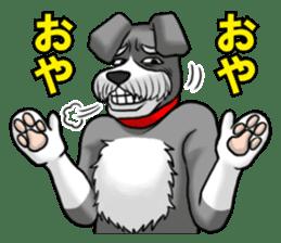 Schnauzersan sticker #11617355
