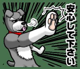 Schnauzersan sticker #11617356