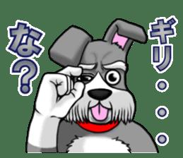 Schnauzersan sticker #11617359