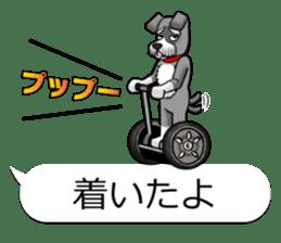 Schnauzersan sticker #11617360