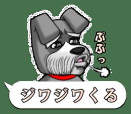 Schnauzersan sticker #11617365