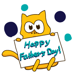 Bruno the Cat! For Father day