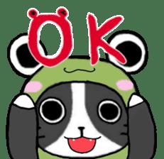 Frog cat1 sticker #11626288