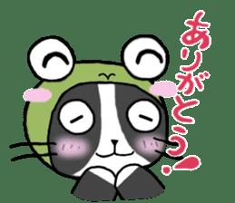 Frog cat1 sticker #11626290