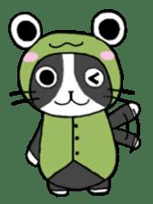 Frog cat1 sticker #11626297