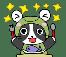Frog cat1 sticker #11626300