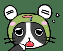 Frog cat1 sticker #11626302