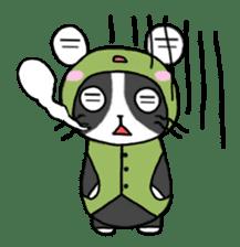 Frog cat1 sticker #11626307