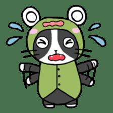 Frog cat1 sticker #11626313