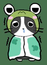 Frog cat1 sticker #11626315