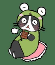 Frog cat1 sticker #11626316