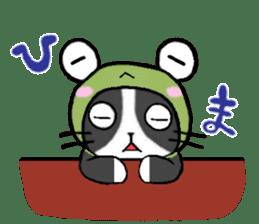 Frog cat1 sticker #11626317