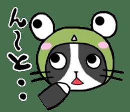 Frog cat1 sticker #11626322
