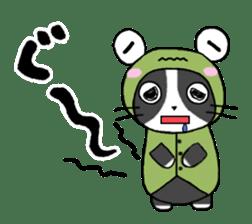 Frog cat1 sticker #11626323