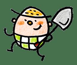 Farmer sticker #11626796