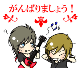 J-ROCK[Visual-kei]Boys LIFE Part2 sticker #11632582