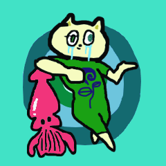 cry emamouse Animal and Squid