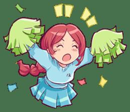 Adorable girl (Eng) sticker #11644656