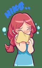 Adorable girl (Eng) sticker #11644660