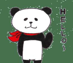 Banda the Lazy Panda sticker #11647152
