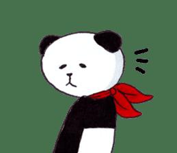 Banda the Lazy Panda sticker #11647153