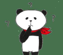 Banda the Lazy Panda sticker #11647154