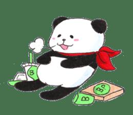 Banda the Lazy Panda sticker #11647158