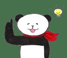 Banda the Lazy Panda sticker #11647161