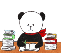 Banda the Lazy Panda sticker #11647162