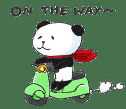 Banda the Lazy Panda sticker #11647165