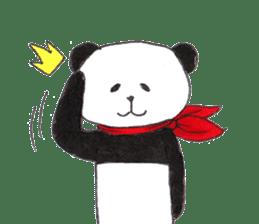 Banda the Lazy Panda sticker #11647168