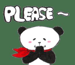 Banda the Lazy Panda sticker #11647177