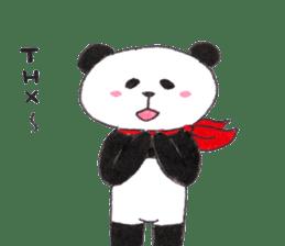 Banda the Lazy Panda sticker #11647178