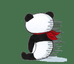 Banda the Lazy Panda sticker #11647181